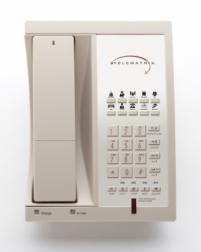 Telematrix 9602MWD 1.9Ghz DECT 6.0 Guest Room Cordless 98559 Ash