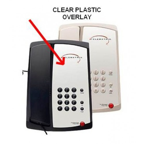 Telematrix 3100 Clear Plastic Overlays 25 Per Pack