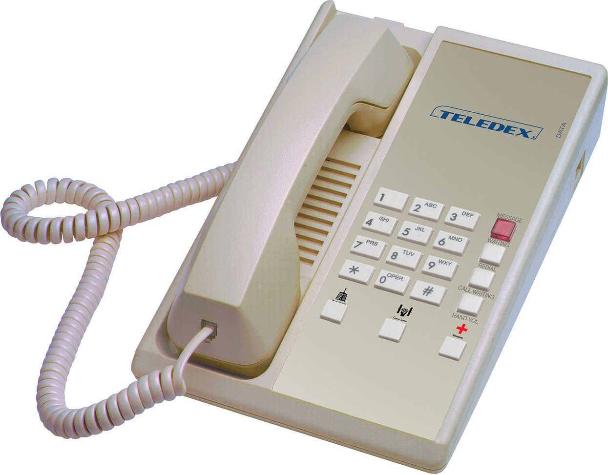 Teledex Diamond+3 Hotel Hospitality Telephone Ash DIA65739