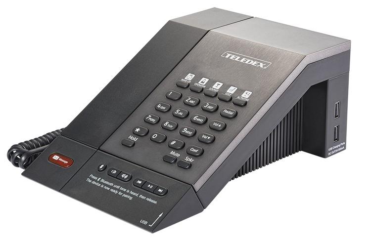 Teledex M Series Guestroom Telephone Single Line USB Bluetooth