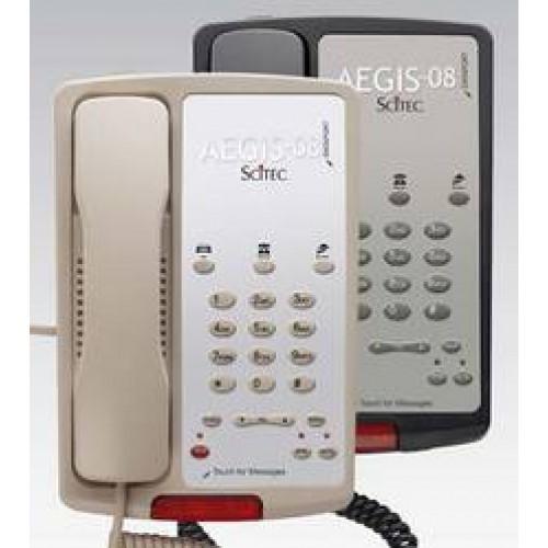 Scitec Aegis-3S-08 Single Line Speakerphone Hotel Phone 3 Button Ash 88031