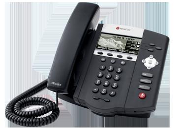 IP450 Polycom Soundpoint 3 Line SIP Phone
