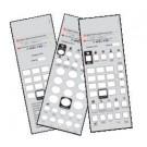 25 Telematrix 3100 3300 9600 Custom Paper Face Plate Printing