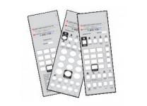 50 Telematrix 3100 3300 9600 Custom Paper Face Plate Printing