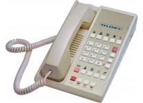 Teledex Diamond L2-10E 2 Line Guest Room Telephone Ash DIA67259