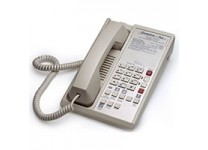 Teledex Diamond L2A 6 Two Line Guestroom Telephone Ash