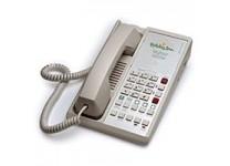 Teledex Diamond L2S 6 Two Line Guestroom Telephone Ash