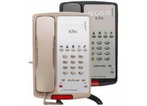 Scitec Aegis-5-08 Single Line Hotel Phone 5 Button Black 80502