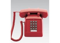 Scitec Aegis Single Line Emergency Phone Red 25003