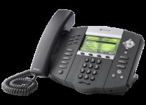 IP670 Polycom Soundpoint Premium 6 Line SIP Phone w/AC